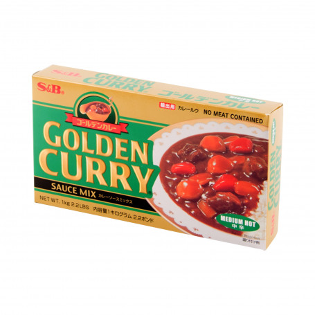 Specialiteter Golden Curry Medium Hot 1kg JA08068
