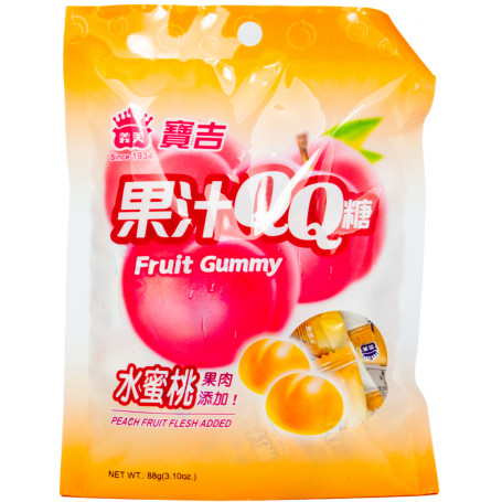 Slik Fruit Gummy Fersken Vingummi RL70039