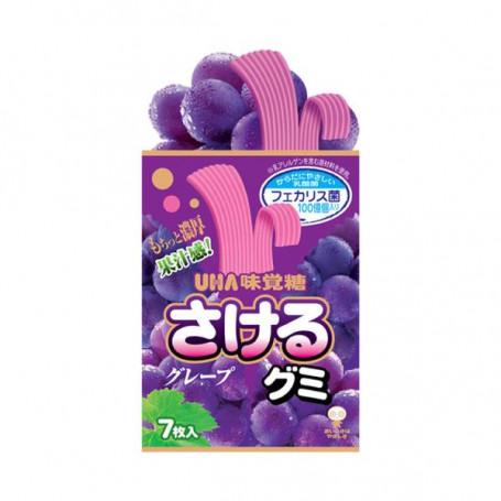 Slik Sakeru Long Gummy Grape Candy RL02025