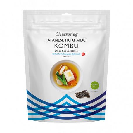 Tang Clearspring Kombu fra Hokkaido 40g PD00301
