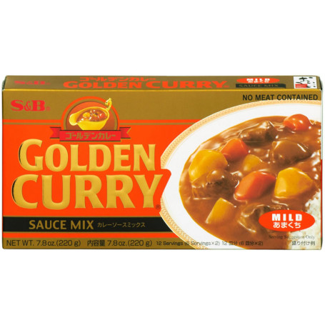 Specialiteter Golden Curry Mild 220g JA15652