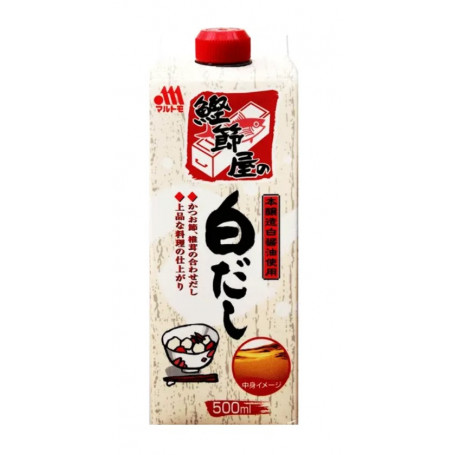 Suppebaser Marutomo Shiro Dashi 500ml LC08300