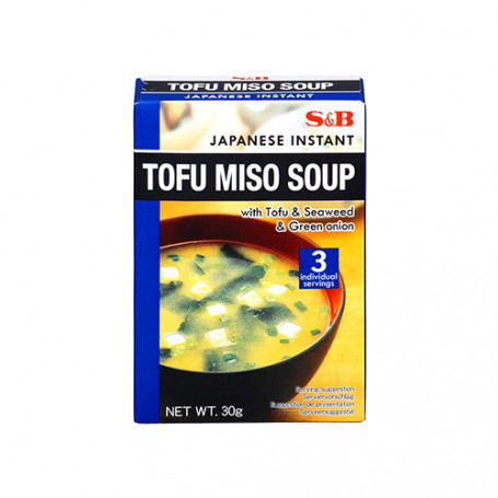 Suppebaser S&B Instant Tofu Miso Suppe GA00839