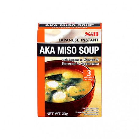 Suppebaser S&B Instant Aka Miso Suppe GA00837