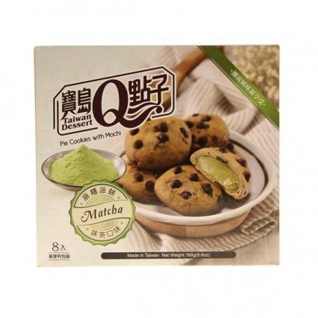 Slik Mochi Pie Cookies Matcha Tea RN70421