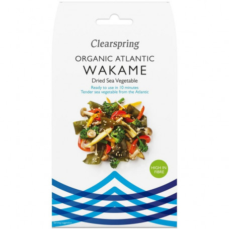 Tang Clearspring Wakame Tang Økologisk 25g PD00203