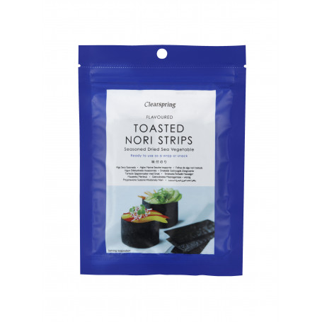 Tang Clearspring Toasted Nori Strips PC00544
