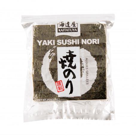 Nori tang Kaitatuya Silver Sushi Nori Halve Plader 2x50stk PCT1212