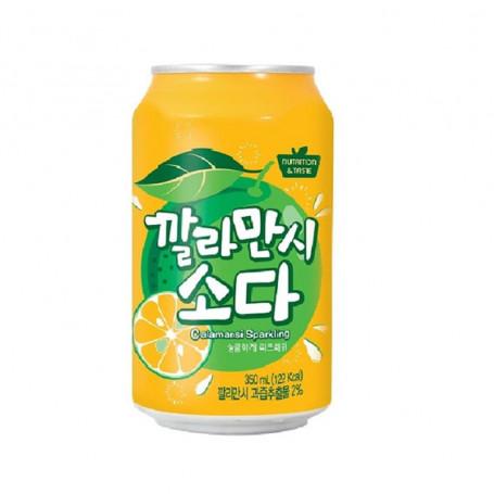 Læskedrikke SFC Koreansk Calamansi Lemon Sodavand 350ml QN40005
