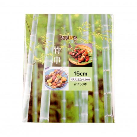 Bambus Bamboo Gushi - Bambus Grillspyd 15cm 1150stk VA05015