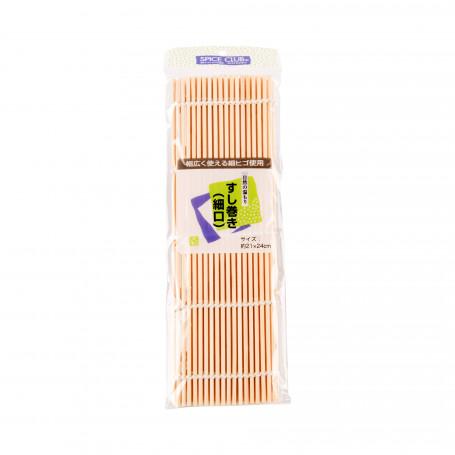 Bambus Sushi Makisu Bambusmåtte med små pinde 21x24cm VC50200