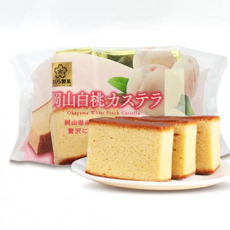 Kage Sakura Seika Okayama White Peach Castella Kage RN80170