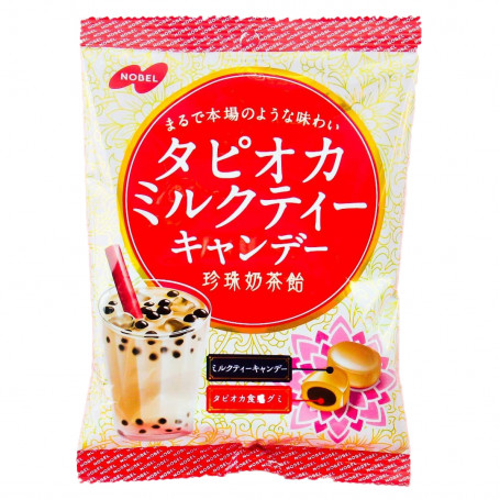 Slik Nobel Tapioca Milk Tea Candy RN80120