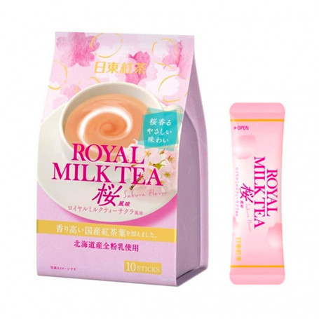 Te Nittoh Kocha Royal Milk Tea Sakura Pulver QD80101
