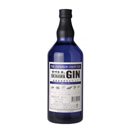 Spiritus Masahiro Okinawa Recipe 01 Japansk Gin EJ12118