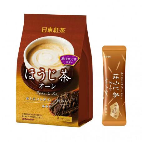 Te Nittoh Hojicha Milk Tea Pulver QD80103