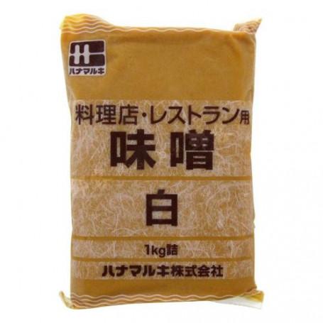 Miso Hanamaruki Shiro Hvid Miso 1kg GA52011
