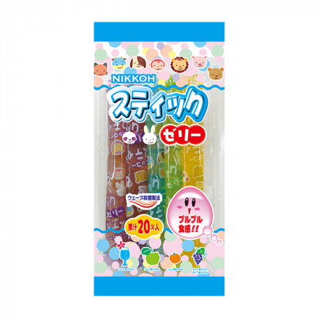 Slik Nikkoh Jelly Sticks Fruit Flavor RJ80220