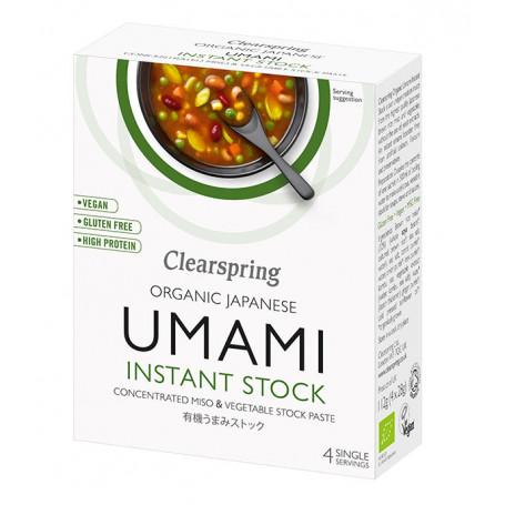 Suppebaser Clearspring Instant Umami Bouillon Økologisk LC00201