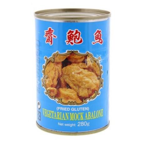 Konserves Wu Chong Mock Abalone - Vegansk Imiteret Havsnegl 280g BP70057