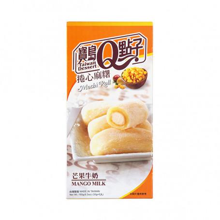 Mochi He Fong Mango Milk Mochi Roll 150g RN70114