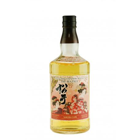 Japansk Whisky The Matsui Sakura Cask Whisky EP01210