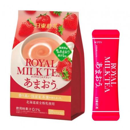 Te Nittoh Kocha Royal Strawberry Milk Tea Pulver QD80107