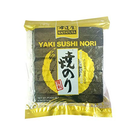 Nori sushi tang Kaitatuya Gold Zenkei Sushi Nori Hele Plader 50stk PCT1110