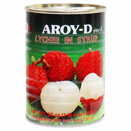 Konserves Aroy-D Litchifrugter i Sirup CP15921