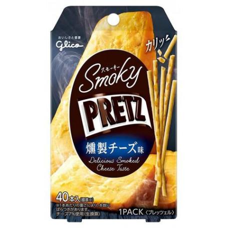 Chips og snacks STOP MADSPILD - Glico Smoky Pretz med Røget Ostesmag RM20950