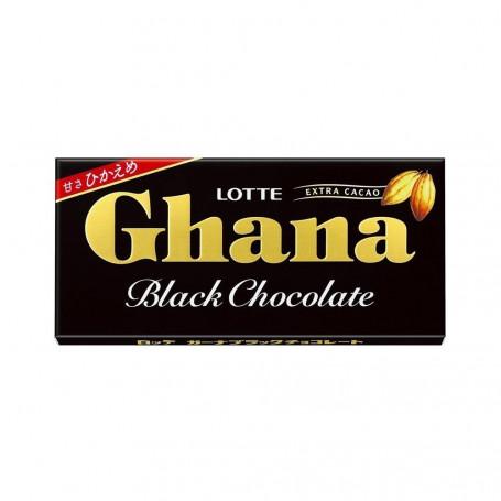Slik Lotte Ghana Black Chocolate 50g RH43146