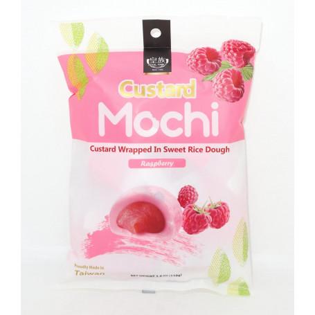Mochi Custard Raspberry Mochi 110g RN70712
