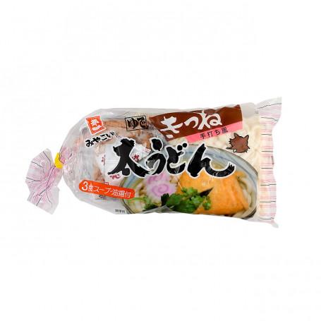 Instant nudler Miyakoichi Futo Udon Kitsune Alt-i-én 3-pakke AC00065