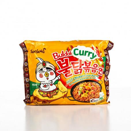 Instant nudler Samyang Buldak Curry Hot Chicken Ramen Instant Nudler AC30011