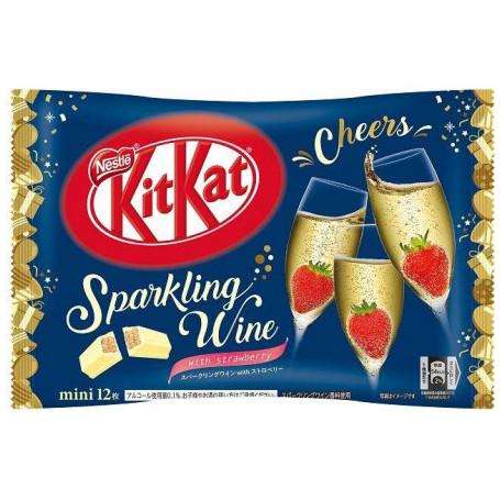 Slik KitKat Minis Sparkling Wine and Strawberry RM80004