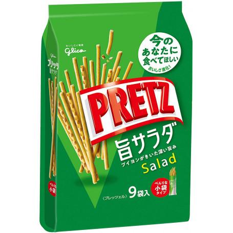 Chips og snacks Glico Umami Salad Pretz 9-pak RM20813