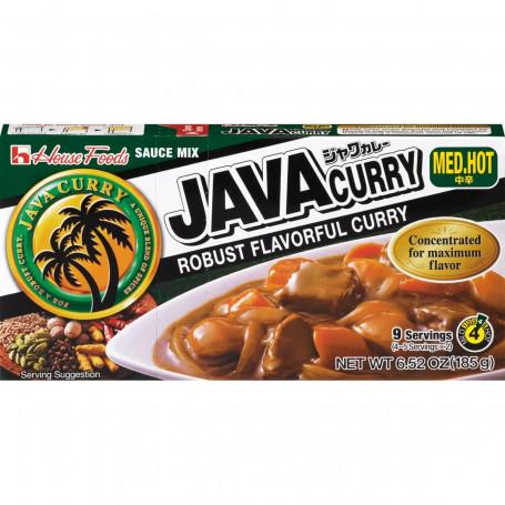 Sauce Java Curry Chukara Medium Hot 185g JA00022