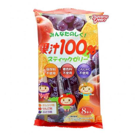 Slik STOP MADSPILD - Ribon Jelly Sticks Juice 100% - 8 stk RL09017