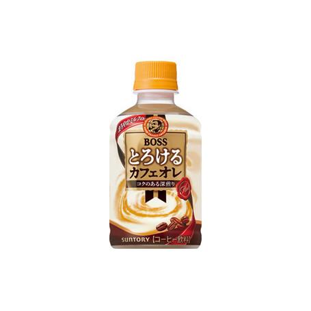 Læskedrikke Boss Torokeru Café Au Lait Coffee Japansk Kaffe 280ml QN08039