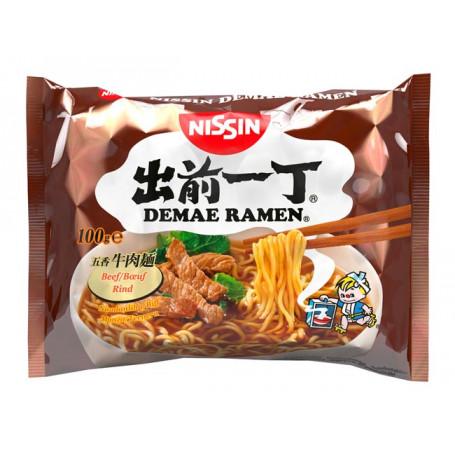 Instant nudler Nissin Demae Ramen Beef Instant Nudler AA00158