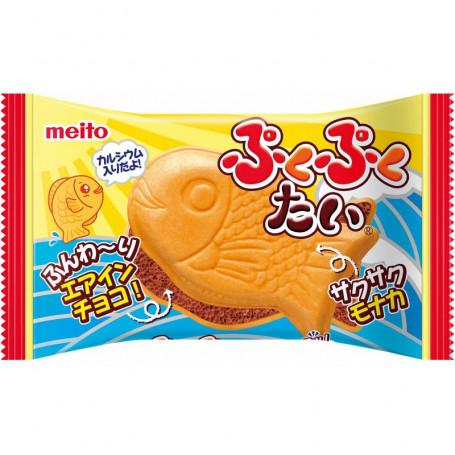 Slik Meito PukuPuku Taiyaki Chokolade Fisk RN20003