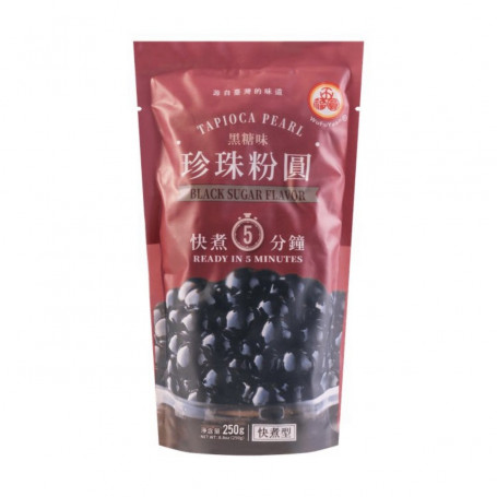 Te Bubble Tea Tapioka Perler Black Sugar Flavor 250g BX03009