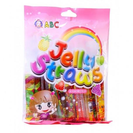 Slik ABC Jelly Straws Fruit Flavor 260g RL00664