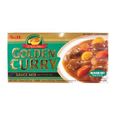 Specialiteter Golden Curry Medium 220g JA15653