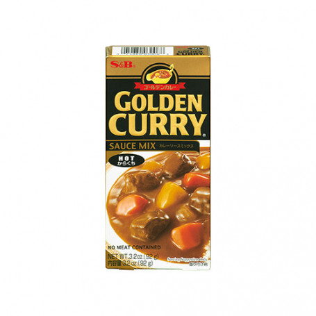 Specialiteter Golden Curry Hot 92g JA15637