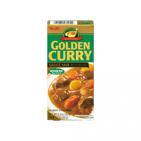 Specialiteter Golden Curry Medium 92g JA15636