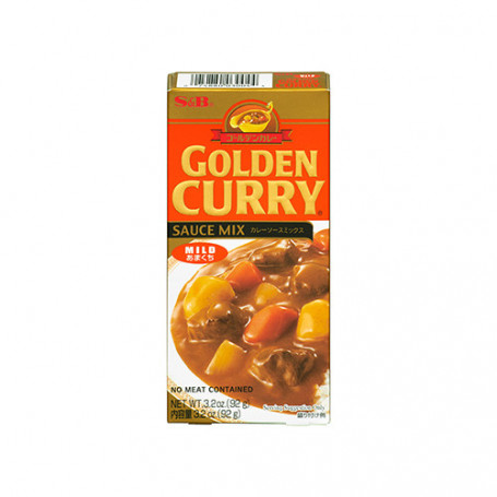 Specialiteter Golden Curry Mild 92g JA15635