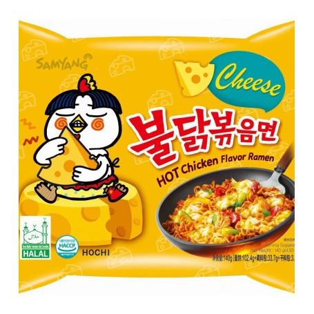 Instant nudler Samyang Hot Chicken Cheese Ramen Instant Nudler AC30015