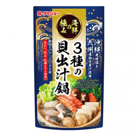 Suppebaser Hot Pot Suppebase Shellfish Yuzu 750g LE80056