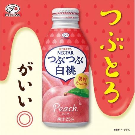 Læskedrikke Fujiya Tubutubu Peach Nectar 380ml QC80129